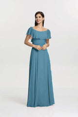 SHELBY BRIDESMAID GOWN OCEAN