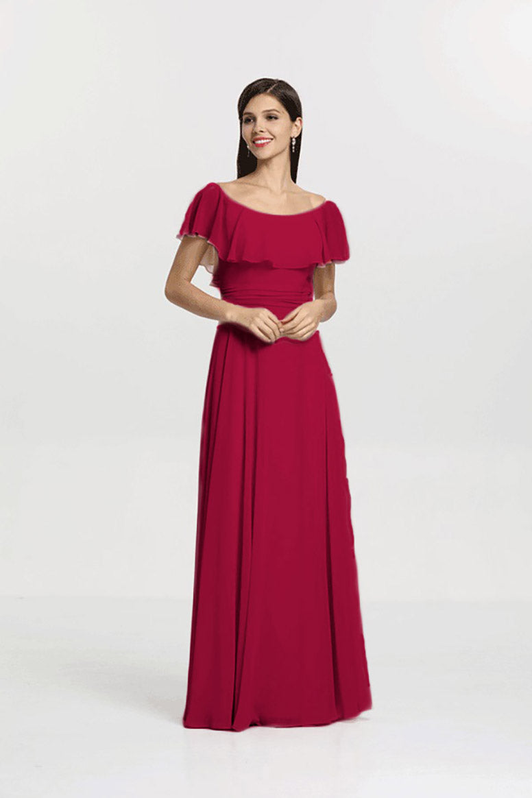 Shelby Bridesmaid S Gown Gather And Gown Wedding Collection