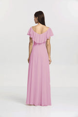 SHELBY BRIDESMAID GOWN ORCHID
