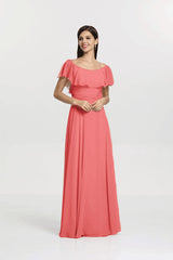SHELBY BRIDESMAID GOWN TULIP