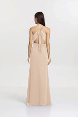 SYDNEY BRIDESMAID GOWN CASHMERE