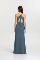 SYDNEY BRIDESMAID GOWN TIMELESS BLUE