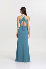 SYDNEY BRIDESMAID GOWN OCEAN