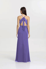 SYDNEY BRIDESMAID GOWN PURPLE