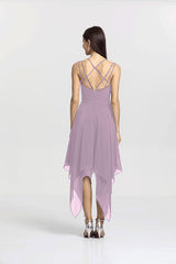 MARIA BRIDESMAID DRESS LILAC