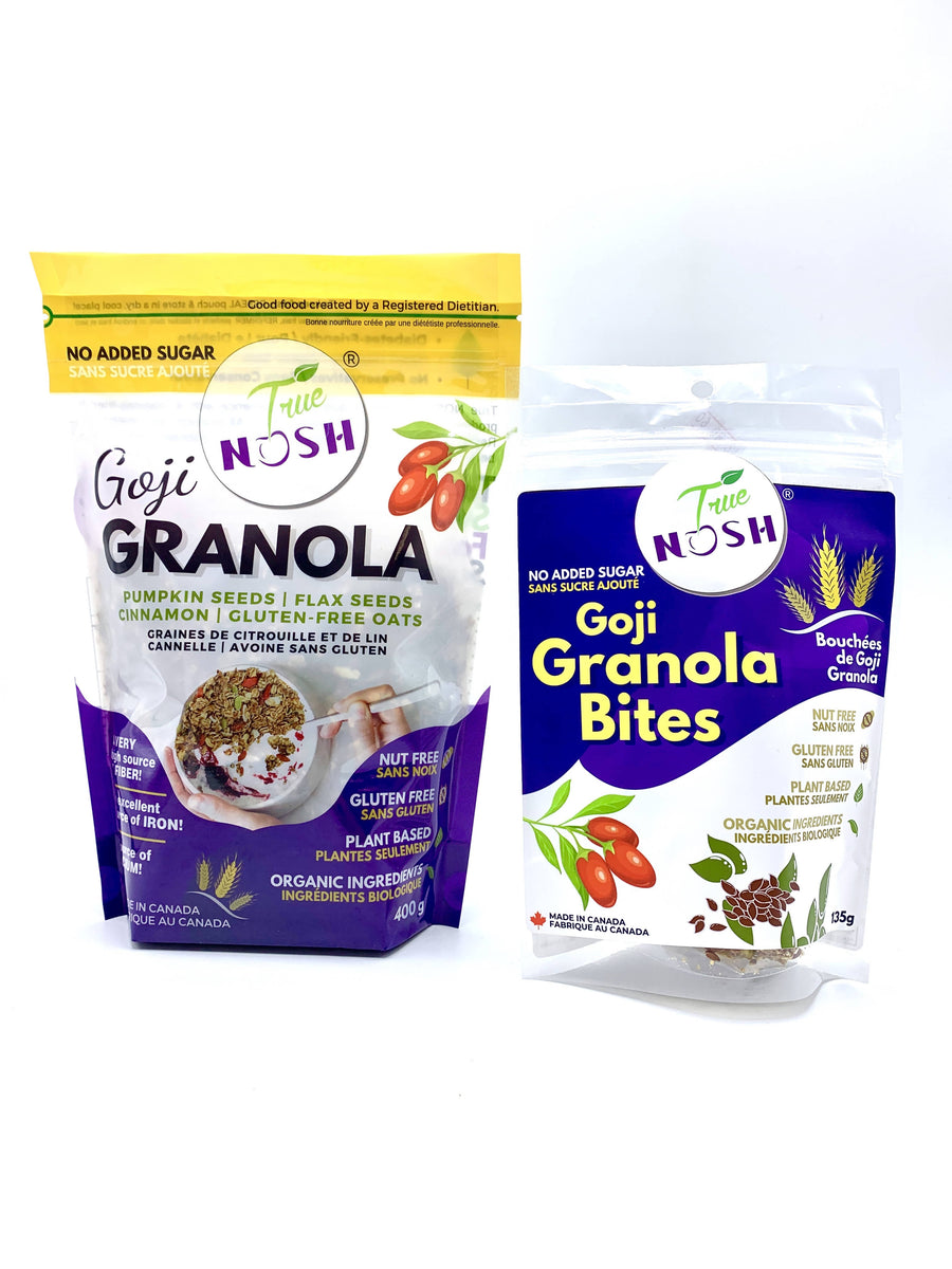 Goji Berry Granola and Goji Granola Bites bundle