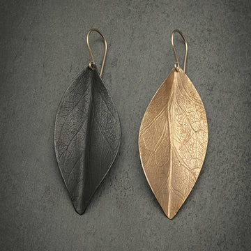 Leaf earrings of the Seasons