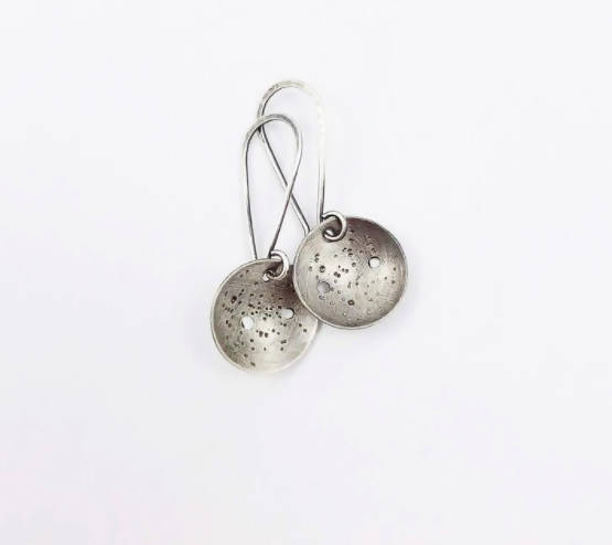 La Luna dangle earrings