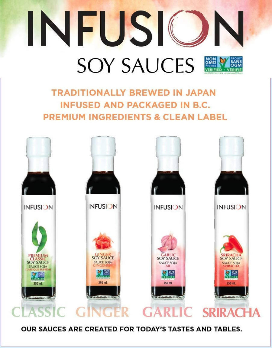 Infusion Soy Sauce Sample Pack