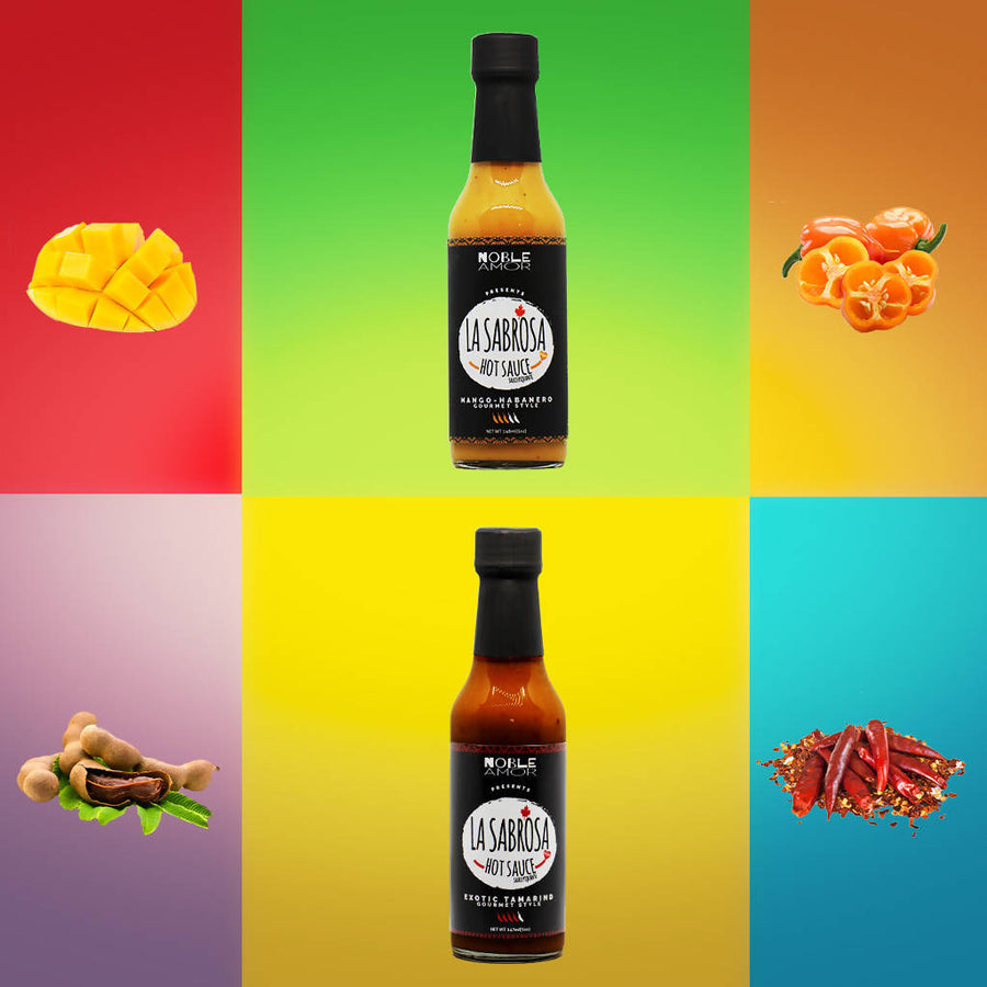 La Sabrosa vegan hot sauce