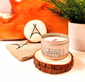 CAMPFIRE Organic Soy Wax Candle