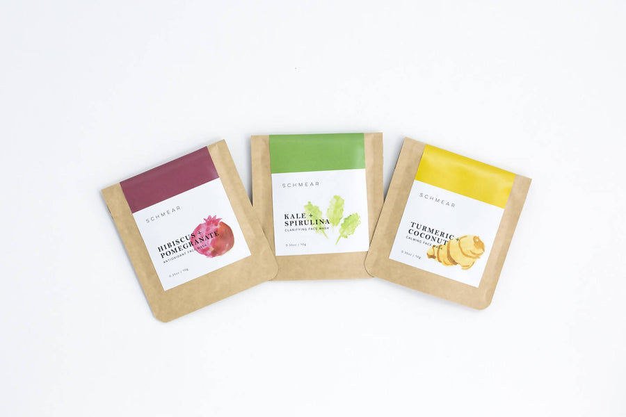 Face Mask Trio Sample Pack