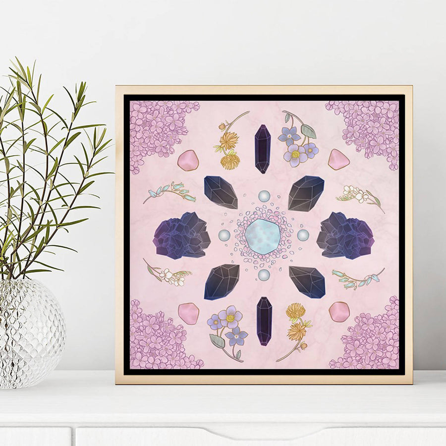 Crystal Grid Limited Edition Fine Art Signed Print