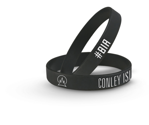 """Conley Island"" ""BIA"" Wristbands (2)"