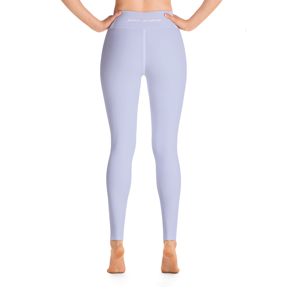 [yoga pants_high-waisted] - familiar...yet different