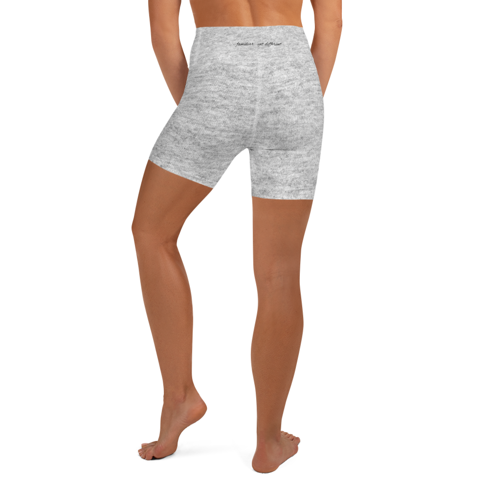 Yoga Shorts in light heather grey