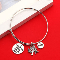 Friends are Always Close In Heart And Love Bracelet
