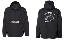 FATFVCKS EAT TACOS ANORAK WINDBREAKER