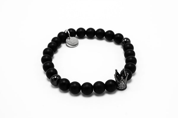 Matte Onyx with Black Rhodium Lux Crown