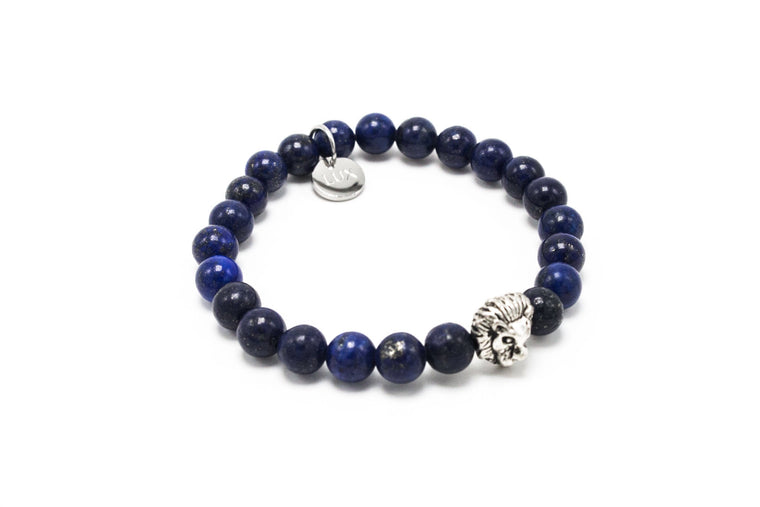 Lapis with Silver LUX Leo
