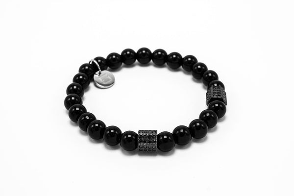 Black Agate Black Rhodium Lux Hex