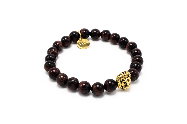 Red Tiger Eye Golden Lux Leo