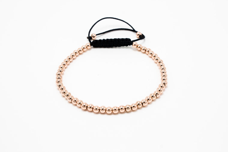 4mm Lux Rose Gold Macrame