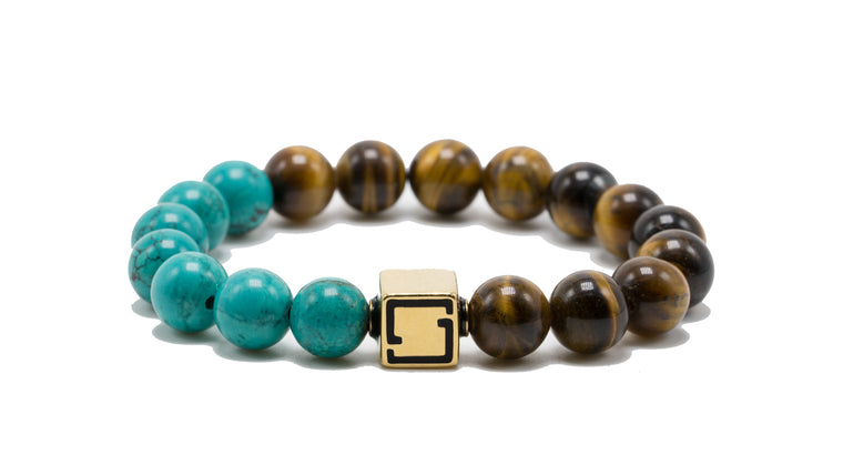 Premium Lux Unified Turquoise and Tiger's Eye