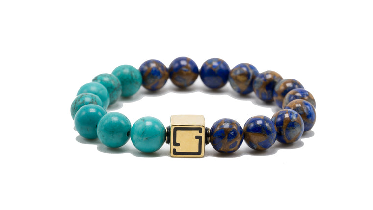 Premium Lux Turquoise and Blue Jasper