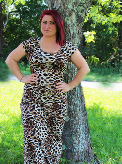 """Wild at Heart"" MAXI DRESS (The Wild Side Collection)"