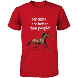 HORSES are better than People!