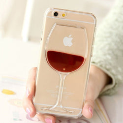 Transparent Wine Iphone Case