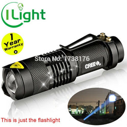 LED Flashlight 2000lm Cree Led XML lantern