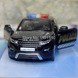 SUV Police Edition Die cast Metal Pull Back Car Model Toy