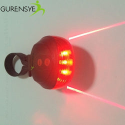 LED Light 2 Lasers Night Tail Light Taillight