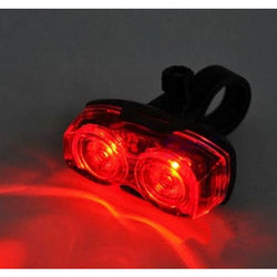 Cycling 2 LEDs Safety Back Rear Tail Flashing Light Lamp