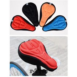 New Quality Bicycle Saddle - Comfortable Cushion Soft Seat Cover