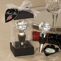 Wedding Gift Decorative Bottle Stopper Elegant Crystal