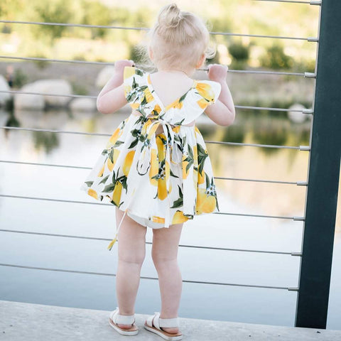 Lemon Summer Sundress