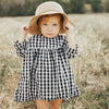 Charlotte Plaid Casual Dress