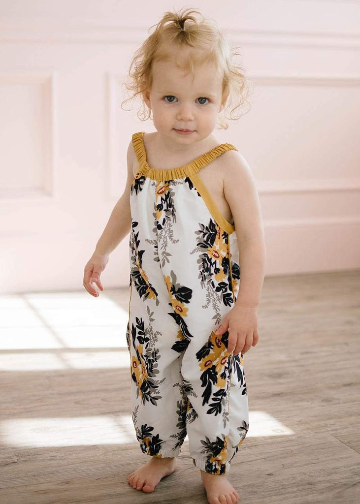 Fashion Floral Baby Romper