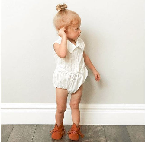 Soft Sole Tassel Booties