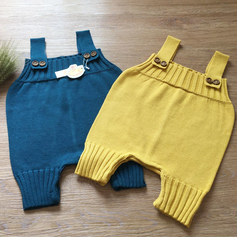 Knit Baby Romper