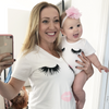 Mommy and Me Lash & Lips T Shirt