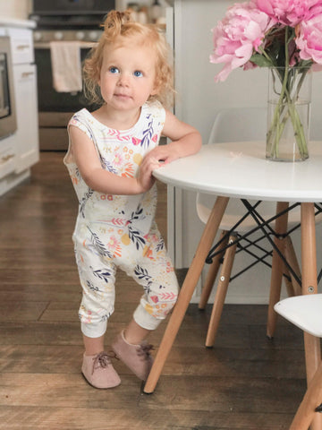 Sage and Poppy Romper