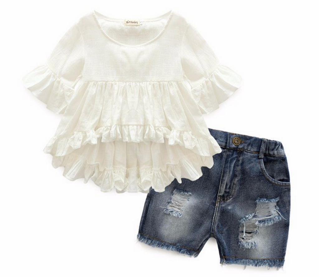 Summer Nights Shirt and Shorts Set