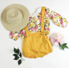 Sammie Overalls and Floral Set