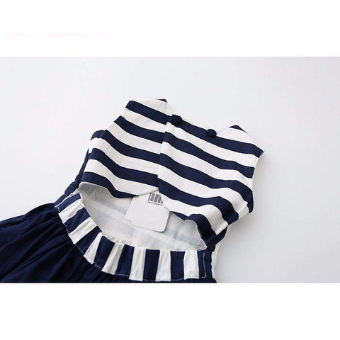 Nautical Lady Tea Dress