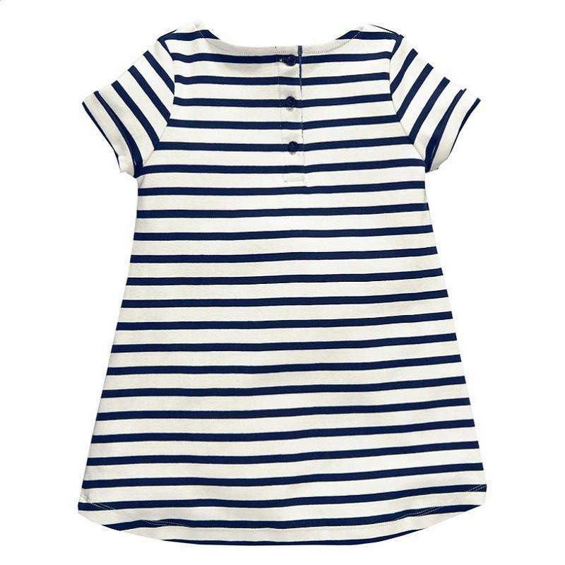 Stripe Summer Shift Dress