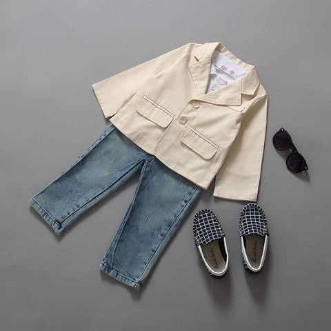 Calloway 3 piece denim, shirt and Jacket set